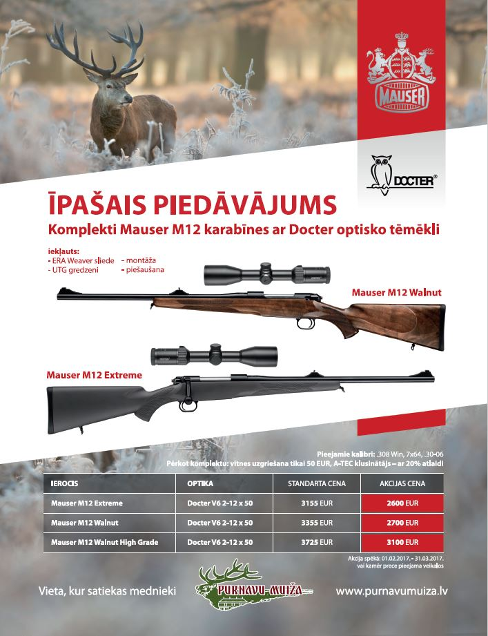 Mauser M12 ar Docter
